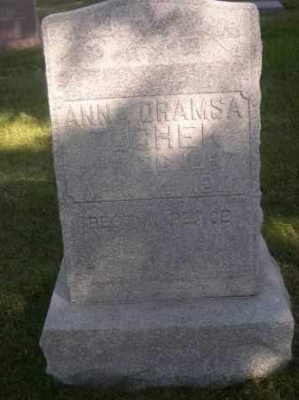 DRAMSA TUCHEK, ANNA - Sheridan County, Nebraska | ANNA DRAMSA TUCHEK - Nebraska Gravestone Photos