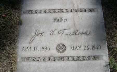 TULLOOS, JOE V. - Sheridan County, Nebraska   JOE V. TULLOOS - Nebraska Gravestone Photos