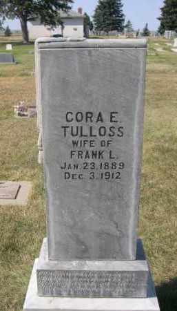 TULLOSS, CORA E. - Sheridan County, Nebraska | CORA E. TULLOSS - Nebraska Gravestone Photos
