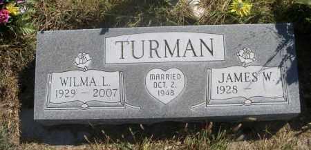 TURMAN, JAMES W. - Sheridan County, Nebraska   JAMES W. TURMAN - Nebraska Gravestone Photos