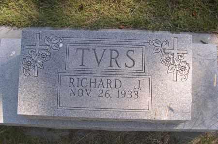 TVRS, RICHARD J. - Sheridan County, Nebraska | RICHARD J. TVRS - Nebraska Gravestone Photos