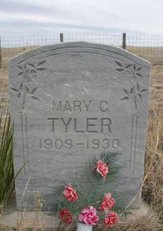 TYLER, MARY C - Sheridan County, Nebraska | MARY C TYLER - Nebraska Gravestone Photos
