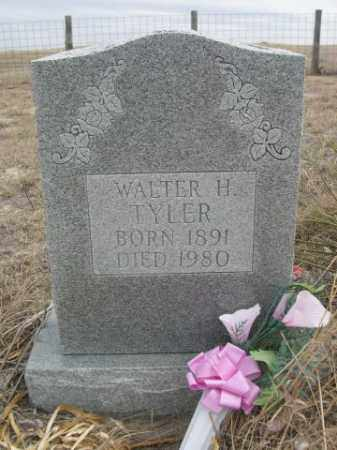 TYLER, WALTER H. - Sheridan County, Nebraska | WALTER H. TYLER - Nebraska Gravestone Photos