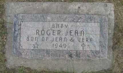 UNKNOWN, ROGER JEAN - Sheridan County, Nebraska | ROGER JEAN UNKNOWN - Nebraska Gravestone Photos