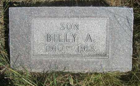 VAN BUSKIRK, BILLY A. - Sheridan County, Nebraska | BILLY A. VAN BUSKIRK - Nebraska Gravestone Photos