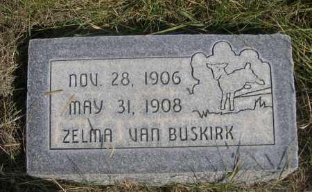 VAN BUSKIRK, ZELMA - Sheridan County, Nebraska | ZELMA VAN BUSKIRK - Nebraska Gravestone Photos