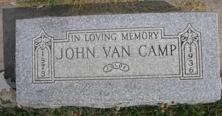 VAN CAMP, JOHN - Sheridan County, Nebraska   JOHN VAN CAMP - Nebraska Gravestone Photos