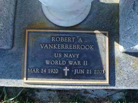 VAN KERREBROOK, ROBERT A. - Sheridan County, Nebraska | ROBERT A. VAN KERREBROOK - Nebraska Gravestone Photos