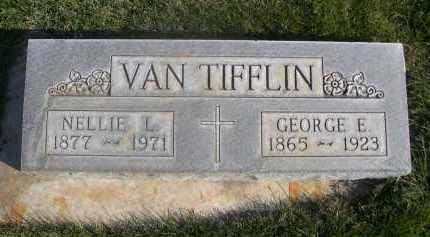 VAN TIFFLIN, GEORGE E. - Sheridan County, Nebraska | GEORGE E. VAN TIFFLIN - Nebraska Gravestone Photos