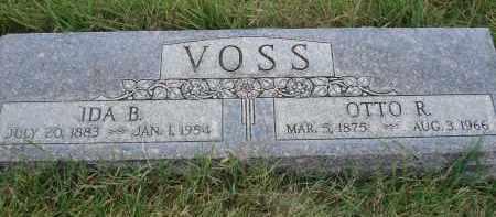 VOSS, IDA B. - Sheridan County, Nebraska | IDA B. VOSS - Nebraska Gravestone Photos