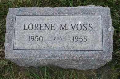 VOSS, LERENE M. - Sheridan County, Nebraska | LERENE M. VOSS - Nebraska Gravestone Photos