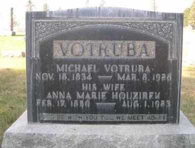 HOUZIREK VOTRUBA, ANNA MARIE - Sheridan County, Nebraska | ANNA MARIE HOUZIREK VOTRUBA - Nebraska Gravestone Photos