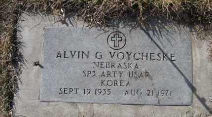 VOYCHESKE, ALVIN G. - Sheridan County, Nebraska | ALVIN G. VOYCHESKE - Nebraska Gravestone Photos