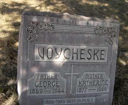 VOYCHESKE, GEORGE - Sheridan County, Nebraska | GEORGE VOYCHESKE - Nebraska Gravestone Photos