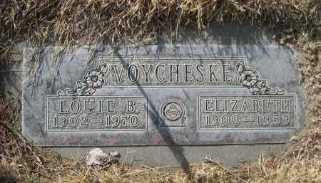 VOYCHESKE, ELIZABETH - Sheridan County, Nebraska   ELIZABETH VOYCHESKE - Nebraska Gravestone Photos
