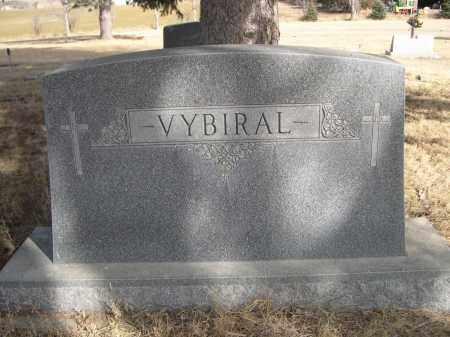 VYBIRAL, FAMILY - Sheridan County, Nebraska | FAMILY VYBIRAL - Nebraska Gravestone Photos