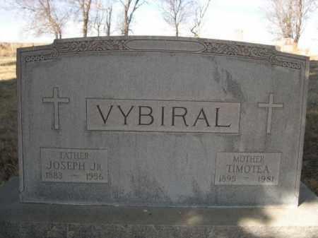 VYBIRAL, JOSEPH JR. - Sheridan County, Nebraska | JOSEPH JR. VYBIRAL - Nebraska Gravestone Photos