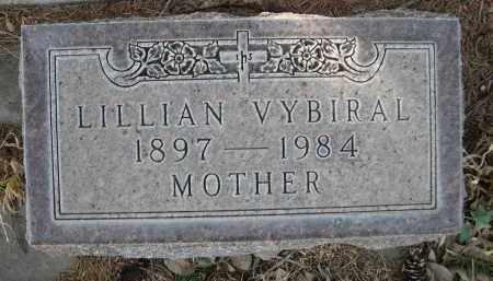 VYBIRAL, LILLIAN - Sheridan County, Nebraska | LILLIAN VYBIRAL - Nebraska Gravestone Photos