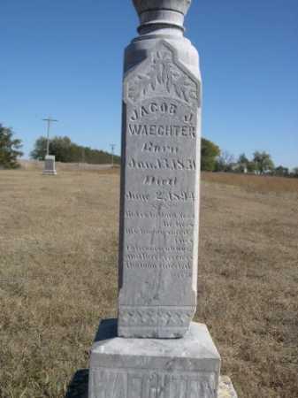 WAECHTER, JACOB J. - Sheridan County, Nebraska   JACOB J. WAECHTER - Nebraska Gravestone Photos
