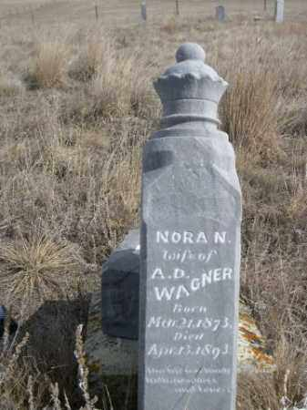 WAGNER, NORA N. - Sheridan County, Nebraska | NORA N. WAGNER - Nebraska Gravestone Photos