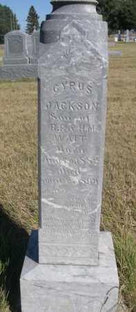 WAIT, CYRUS JACKSON - Sheridan County, Nebraska | CYRUS JACKSON WAIT - Nebraska Gravestone Photos