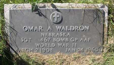 WALDRON, OMAR A. - Sheridan County, Nebraska | OMAR A. WALDRON - Nebraska Gravestone Photos