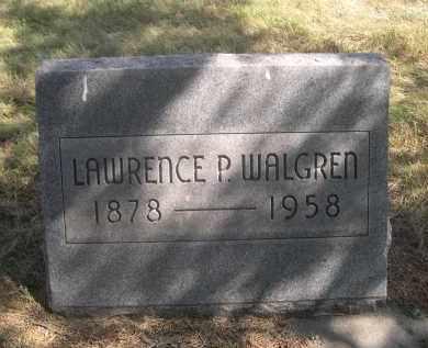 WALGREN, LAWRENCE P. - Sheridan County, Nebraska | LAWRENCE P. WALGREN - Nebraska Gravestone Photos
