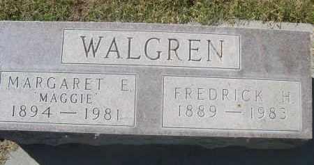 WALGREN, FREDRICK H. - Sheridan County, Nebraska   FREDRICK H. WALGREN - Nebraska Gravestone Photos