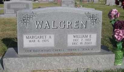 WALGREN, MARGARET A. - Sheridan County, Nebraska | MARGARET A. WALGREN - Nebraska Gravestone Photos