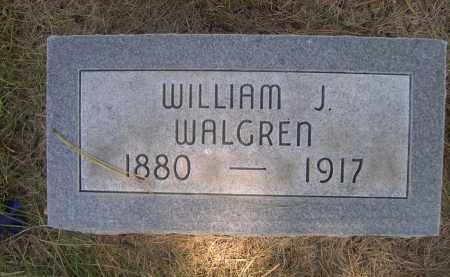 WALGREN, WILLIAM J. - Sheridan County, Nebraska | WILLIAM J. WALGREN - Nebraska Gravestone Photos