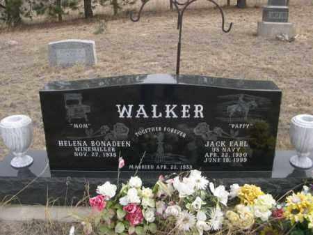 WALKER, HELENA BONADEEN - Sheridan County, Nebraska | HELENA BONADEEN WALKER - Nebraska Gravestone Photos
