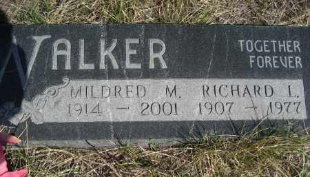 WALKER, MILDRED M. - Sheridan County, Nebraska | MILDRED M. WALKER - Nebraska Gravestone Photos