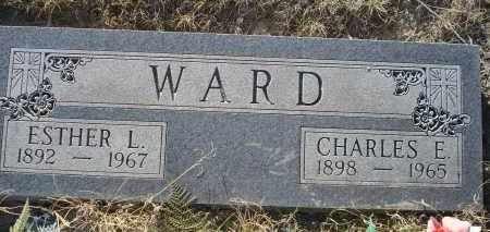 WARD, ESTHER L. - Sheridan County, Nebraska   ESTHER L. WARD - Nebraska Gravestone Photos