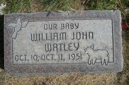 WATLEY, WILLIAM JOHN - Sheridan County, Nebraska | WILLIAM JOHN WATLEY - Nebraska Gravestone Photos