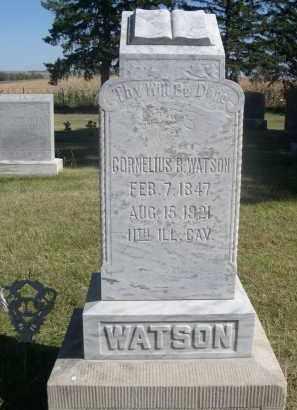 WATSON, CORNELIUS R. - Sheridan County, Nebraska | CORNELIUS R. WATSON - Nebraska Gravestone Photos