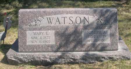 WATSON, JOSEPH A. - Sheridan County, Nebraska | JOSEPH A. WATSON - Nebraska Gravestone Photos