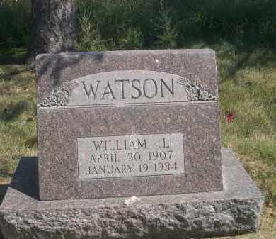WATSON, WILLIAM L. - Sheridan County, Nebraska | WILLIAM L. WATSON - Nebraska Gravestone Photos