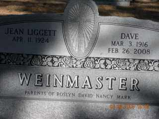 WEINMASTER, JEAN - Sheridan County, Nebraska   JEAN WEINMASTER - Nebraska Gravestone Photos