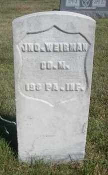 WEIRMAN, JNO. - Sheridan County, Nebraska | JNO. WEIRMAN - Nebraska Gravestone Photos