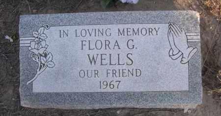 WELLS, FLORA G. - Sheridan County, Nebraska | FLORA G. WELLS - Nebraska Gravestone Photos