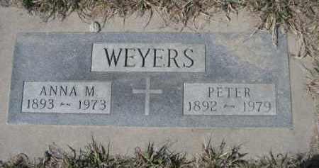 WEYERS, ANNA M. - Sheridan County, Nebraska | ANNA M. WEYERS - Nebraska Gravestone Photos