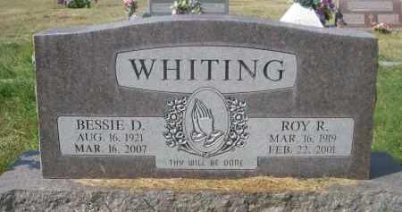 WHITING, ROY R. - Sheridan County, Nebraska | ROY R. WHITING - Nebraska Gravestone Photos