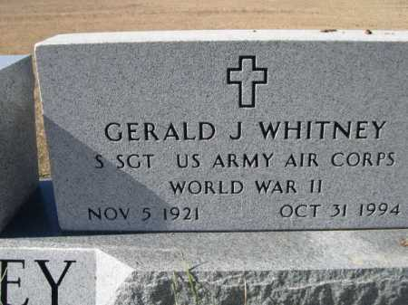 WHITNEY, GERALD J. - Sheridan County, Nebraska | GERALD J. WHITNEY - Nebraska Gravestone Photos