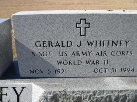 WHITNEY, GERALD J. - Sheridan County, Nebraska   GERALD J. WHITNEY - Nebraska Gravestone Photos