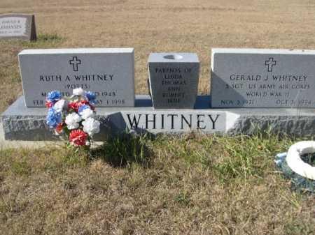 WHITNEY, RUTH A. - Sheridan County, Nebraska | RUTH A. WHITNEY - Nebraska Gravestone Photos