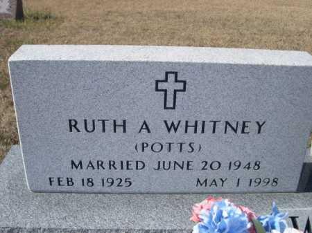 POTTS WHITNEY, RUTH A. - Sheridan County, Nebraska | RUTH A. POTTS WHITNEY - Nebraska Gravestone Photos
