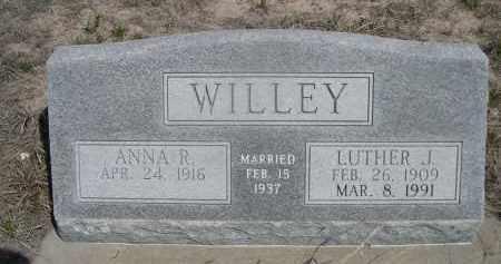 WILLEY, ANNA R. - Sheridan County, Nebraska | ANNA R. WILLEY - Nebraska Gravestone Photos
