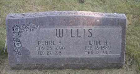 WILLIS, PEARL A. - Sheridan County, Nebraska   PEARL A. WILLIS - Nebraska Gravestone Photos