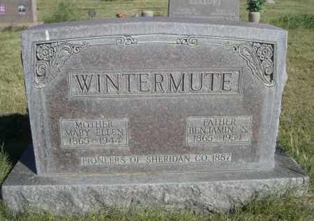 WINTERMUTE, BENJAMIN S. - Sheridan County, Nebraska | BENJAMIN S. WINTERMUTE - Nebraska Gravestone Photos