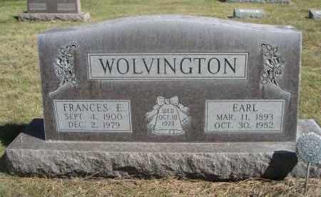 WOLVINGTON, EARL - Sheridan County, Nebraska | EARL WOLVINGTON - Nebraska Gravestone Photos